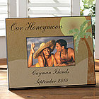 Personalized Honeymoon Photo Frame