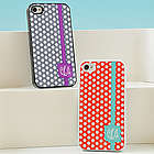 Personalized Polka Dot iPhone Case