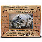 Personalized Gentle Kitty Wooden Picture Frame