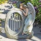 Angel with Chimes Garden and Patio Statue