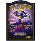 Baltimore Ravens Personalized Wall Decor