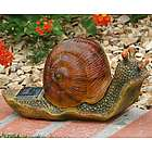 Solar Snail Garden Light