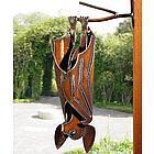 Metal Garden Bat