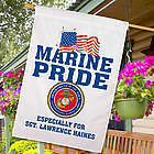 Military Pride Personalized House Flag
