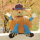 Pumpkin Scarecrow or Ghost Decorations