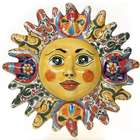 Mexican Talavera Sun Plaque