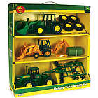 John Deere Deluxe Vehicle Toy Set