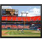 Florida Marlins Personalized Scoreboard 16x20 Frame Canvas