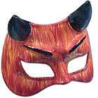 Devil Leather Mask