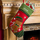 Personalized Gingerbread Boy Stocking