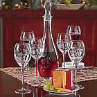 Decanter Set with Big Red Cheddar Cheese