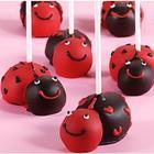 6 Handmade Valentine's Love Bug Cake Pops