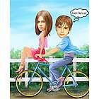 Need a Ride Caricature Art Print