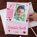 Valentine's Day Personalized Oversized Photo Greeting Card