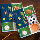 Personalized Kid's Sports Notebooks