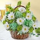 Large St. Patrick's Day Flower Basket