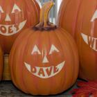 Small Personalized Jack-O-Lantern Pumpkin