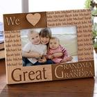 Great Grandparents Personalized Picture Frame