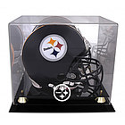 Pittsburgh Steelers Golden Classic Helmet Display Case