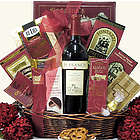 Sweet Expressions Gourmet Wine & Chocolate Gift Basket