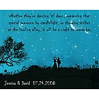 Dancing at Midnight Personalized Print