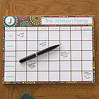 Simply Organized Personalized 8.5x11 Calendar Pad