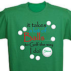 Personalized Golf T-Shirt