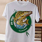 Fisherman Personalized Adult T-Shirt
