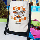 Personalized Cheerleader Backpack