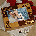 Engraved Couple's Photo Keepsake Box