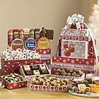 Holiday Sausage and Cheese Ornament Gift Tower