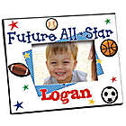 "New Baby ""Future All-Star"" Personalized Printed Frame"