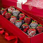 Happy Valentine's Day Strawberry Rose Box