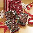 Chocolate Christmas Card Trio Gift Box