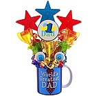 #1 Dad Lollipop Mug