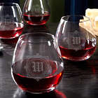 4 Winchester Personalized Stemless Wine Glasses