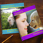 Photo Excitement Personalized Large Notebooks