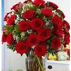 Two Dozen Long Stemmed Red Birthday Roses