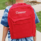 Embroidered Name Backpack