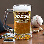 Cheers! 25 oz. Personalized Beer Mug
