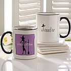 Halloween Witch Personalized Coffee Mug