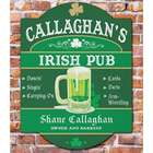 Irish Pub Personalized Wall Sign