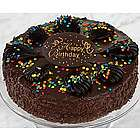 Happy Birthday Chocolate Mousse Torte