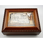 Trust in the Lord Music Box