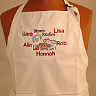 Served with Love Personalized Apron