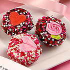 Sweetheart Tin of Belgian Chocolate Covered Oreos