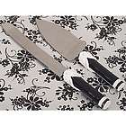 Black and White Collection Cake Server Set
