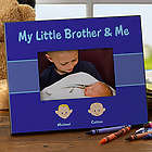 Brother Cartoon Character Personalized Picture Frame