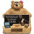 Personalized Business Card Holder for Basketball Coach