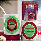 Personalized Christmas Hot Cocoa Mug for Kids